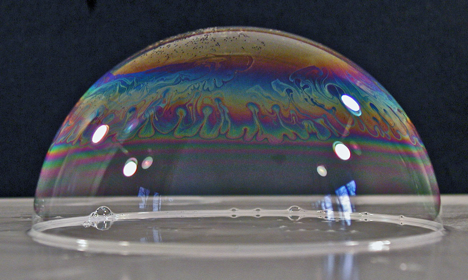 tabletop bubble